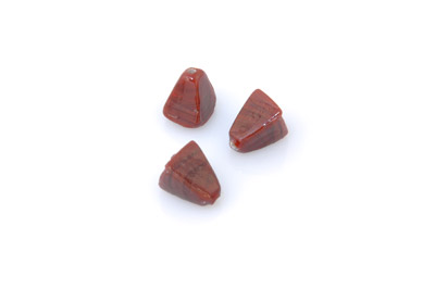pyramide 14x10mm marron brillant 150g