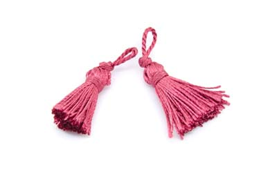 pompon raspberry 35mm x25pcs