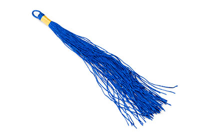 tassel 120mm electric blue x20pcs