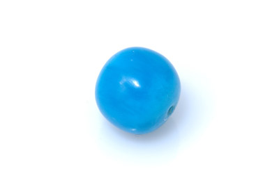 acrylic beads round plain 25mm 15 pcs