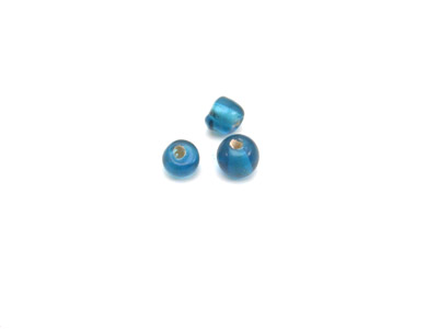 ronde 4mm bleu teal brillant 150g