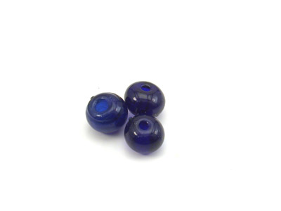 ronde 7mm bleu marine brillant 150g