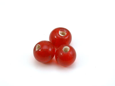ronde 8mm rouge brillant 150g