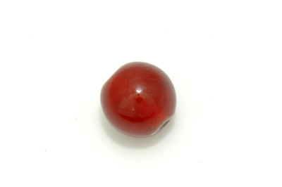 ronde 22mm rouge brillant 300g