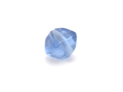 bicône 12x12mm bleu gis brillant 150g