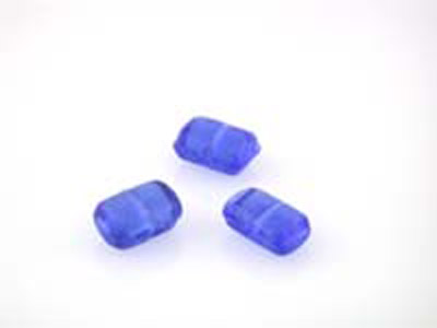 rectangle plat 10x13mm bleu ciel brillant 150g
