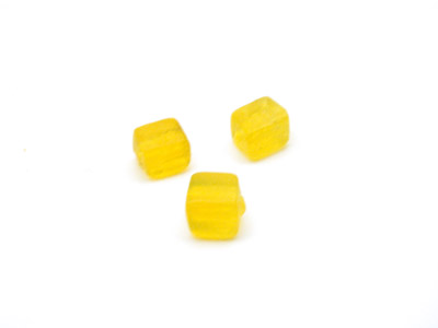 cube 5mm jaune brillant 150g