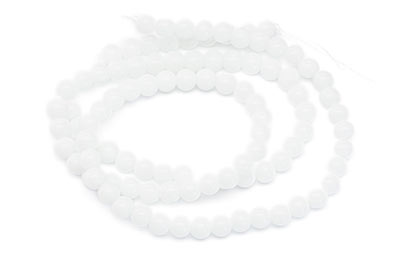 round glass bead 4mm x1fil